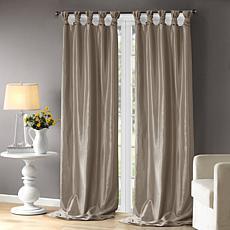"Madison Park Emilia Curtain - Pewter - 50"" x 108"""