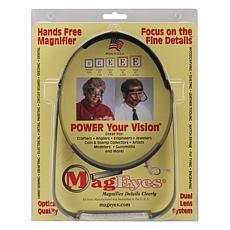MagEyes Magnifier - Full Circle/Double Hi - Black