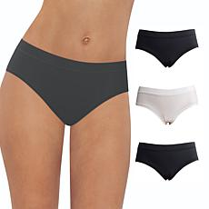 Maidenform 3-pack Comfort Devotion Ultralight Hipster Panty
