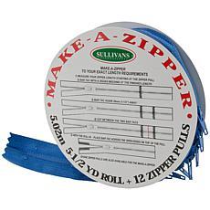 Make-A-Zipper 5-1/2yd. Kit - Royal Blue