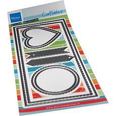 Marianne Design Craftables Slim Line Banners Die