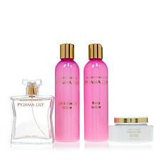 Marilyn Miglin Pyjama Lily 4-piece Eau de Parfum, Bath & Body Set
