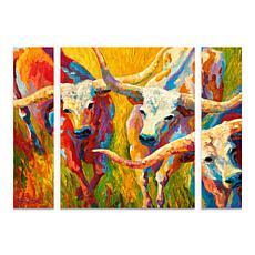 """Marion Rose """"Dance of the Longhorns"""" Multi-Panel Art Se"""