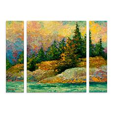 "Marion Rose ""Pacific Island"" Multi-Panel Art Set - 24"" x 32"""
