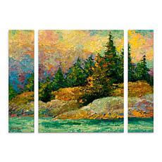 "Marion Rose ""Pacific Island"" Panel Art - 24"" x 32"""