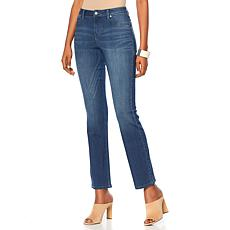 MarlaWynne Baby Boot-Cut Denim Pant