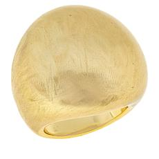 MarlaWynne Brushed Metal Dome Ring