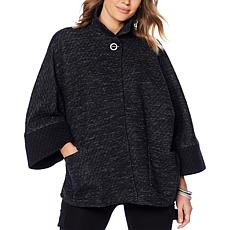 MarlaWynne Double-Faced Knit Drama Topper