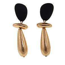MarlaWynne Elongated Bead Drop Earrings