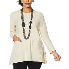 MarlaWynne Handkerchief Tunic with Pockets