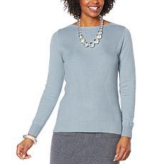 MarlaWynne Lattice Stitch Box Sweater