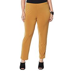 MarlaWynne Luxe Crepe Straight Leg Pant