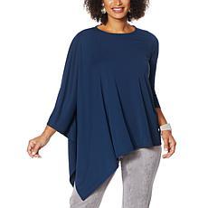 MarlaWynne Luxe Jersey Asymmetric Top
