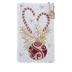 Mary Frances Sweet Handmade Beaded Phone Pouch