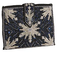 Mary Frances The North Calls Hand-Beaded Evening Bag