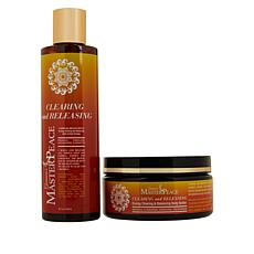 MasterPeace Clearing and Releasing Shower Gel and Body Butter Duo