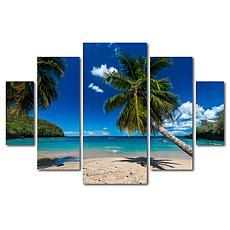 Mathieu Rivrin 'Martinique' Multi-Panel Art Collection