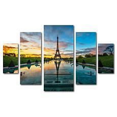 Mathieu Rivrin 'Sunrise in Paris' Art Collection