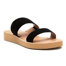 Matisse Tees Suede Slide Sandal