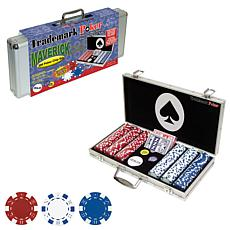 Maverick 300 Dice Style 11.5 Gram Poker Chip Set