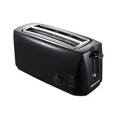 Maxi-Matic Elite Gourmet 4-Slice Long Slot Cool-Touch Toaster - Black