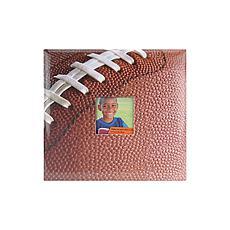 MBI Sport and Hobby Post Bound Album W/Window 12X12 - Football