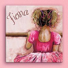 MBM Ballerina Personalized 16x16 Canvas