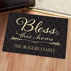 MBM Bless This Home Personalized Oversized Doormat