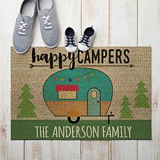MBM Happy Campers Personalized Standard Doormat