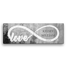 MBM Infinite Love 6x18 Canvas