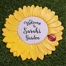 MBM My Garden Personalized Sunflower Garden Stone