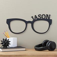 MBM Personalized Black Wood Glasses Plaque