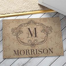 MBM Vintage Family Personalized Doormat