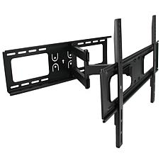 MegaMounts Full Motion Tilt and Swivel Wall Mount for 32-70 Inch Di...