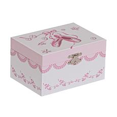 Mele & Co. Clarice Girl's Wooden Musical Ballerina Jewelry Box