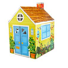 Melissa & Doug 4' Tall Indoor Playhouse with Launch Pad