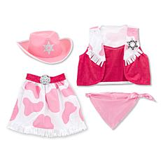 Melissa & Doug Cowgirl Role-Playing Set