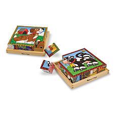 Melissa & Doug Cube Puzzle Combo