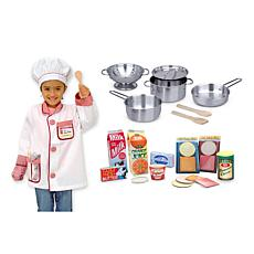 Melissa & Doug Let's Play Chef Accessory Bundle