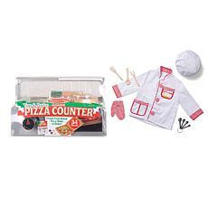 Melissa & Doug Pizza and Chef Bundle