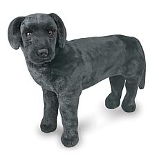 Melissa & Doug Plush Black Lab