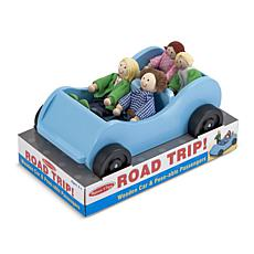 Melissa & Doug Road Trip Wooden Car and Figures