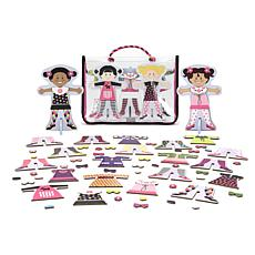 Melissa & Doug Tops and Tights Magnetic Dress-Up Set