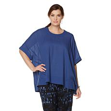 Melissa McCarthy Seven7 Button-Back Boxy Tee