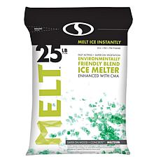 MELT 25-pound Resealable Bag Environmentally-Friendly Blend Ice Melter