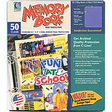 Memory Book Top-Load Page Protectors