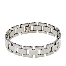 "Men's Tungsten Watch Band Link 8-1/4"" Bracelet"
