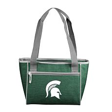 MI State Crosshatch 16-Can Cooler Tote