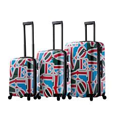 Mia Toro Italy Love Hardside 3pc Spinner Luggage