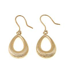 Michael Anthony Jewelry® 10K Open Teardrop Earrings